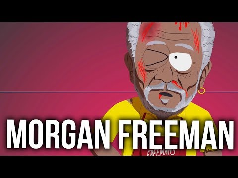 DEFEATING MORGAN FREEMAN - South Park The Fractured But Whole Walkthrough (Farts over Freckles)
