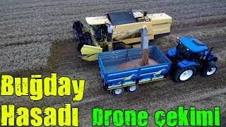 Drone çekimi Buğday hasadı - Tekirdağ Çorlu Ahmet SANSARCI Ergün UZUNKÖPRÜ Mustafa Can ÇAĞLAR