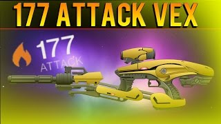 How To Get A 177 Attack Vex Mythoclast - Exotic Blueprint