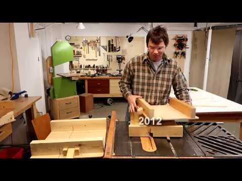 How long does it take to make a table saw sled?