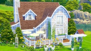 I built an old cottage cafe in The Sims 4 (Streamed 4/9/20)