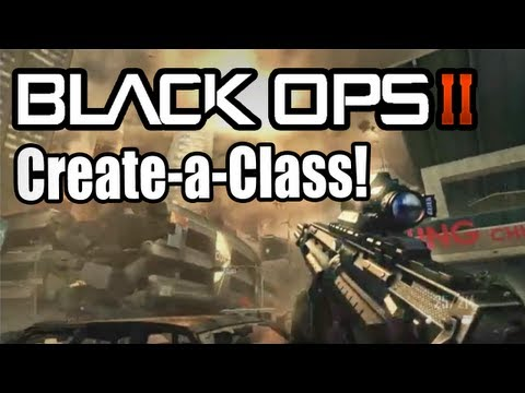 Black Ops 2 MULTIPLAYER Create-a-Class 2.0 - NEW System! (Call of Duty BO2) Gameplay!