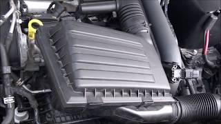 Wymiana filtra powietrza Skoda Octavia III