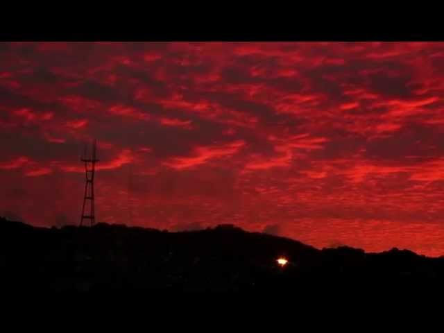 Time-lapse Of An Amazing San Francisco Sunset