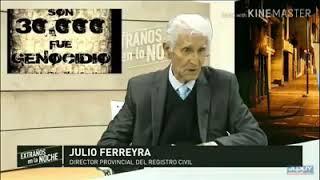 Video: El candidato a gobernador por Jujuy Daniel Ferreyra negó los 30 mil desaparecidos