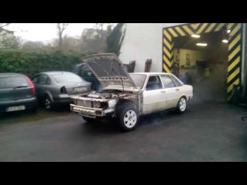 AUDI b2 type 81 1982 V6 TDI drives....