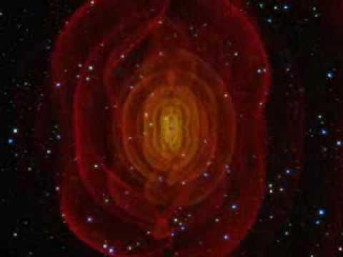 Resultado de imagen de El encuentro de dos agujeros negros