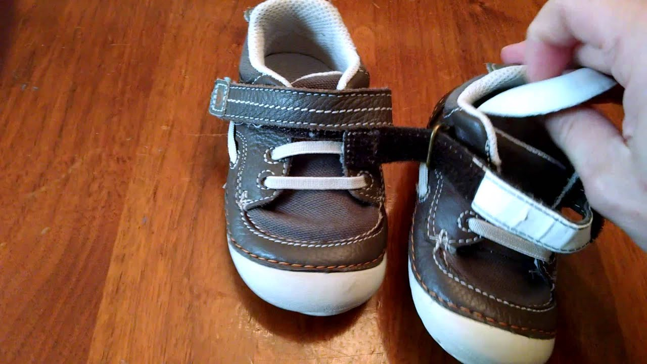 Stride Rite Dawson Baby Boy Shoe Review Youtube