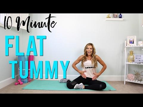 10-minute-flat-tummy- -barre-bootcamp