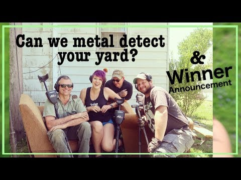 Can we metal detect your yard? | Winner Announcement