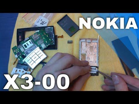 Nokia X3-00 naprawa taśmy - disassambly - flex repair