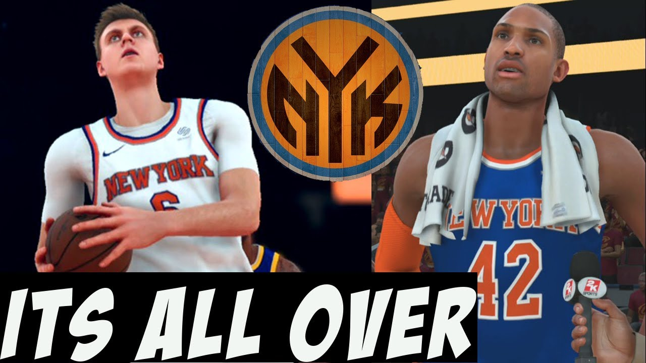 NBA 2K18 Knicks MyGM  3e901866c