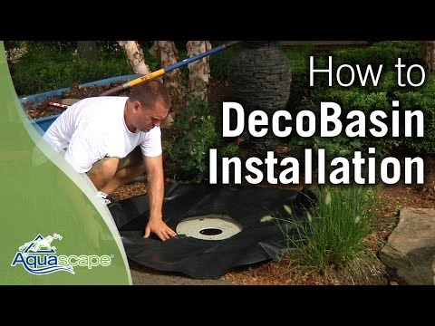 how-to-install-an-aquascape-decobasin-fountain-kit