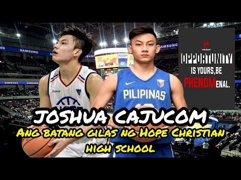 Joshua Cajucom Hope Christian High School [HCHS] Highlights | Under-17 Gilas Point Guard Prospect