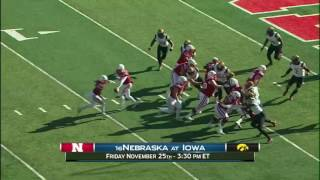 Week 13 Preview: Nebraska at Iowa