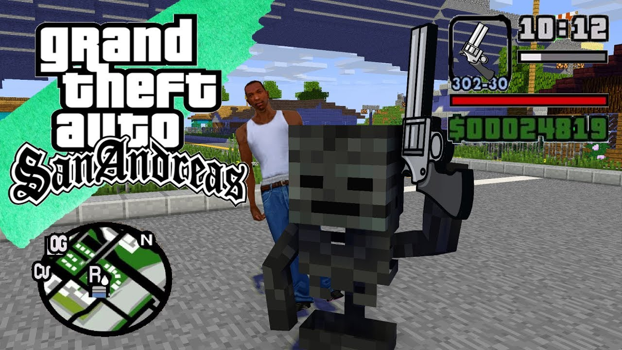 minecraft gta san andreas download free
