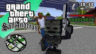Canavar Okulu - GTA SAN ANDREAS FULL FİLM - Minecraft Animasyon