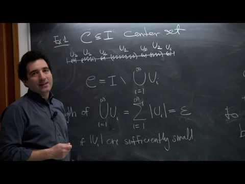 Ergodic Theory - Stefano Luzzatto - Lecture 01
