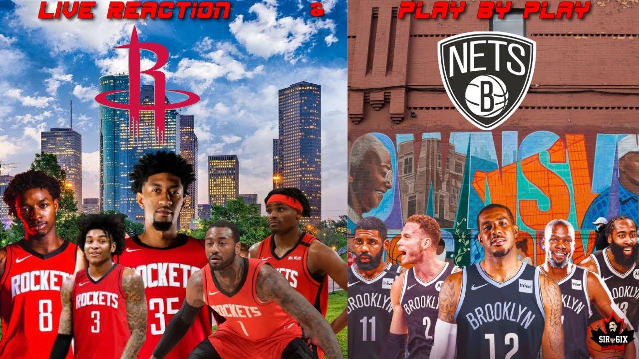 Watch Nets vs. Rockets: TV channel, live stream info, start time