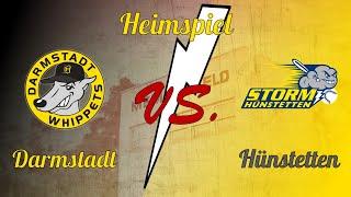 2. Bundesliga Süd/West Darmstadt Whippets vs. Hünstetten Storm