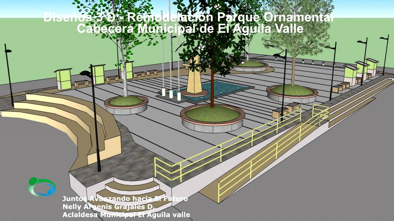 propuesta en 3 d dise o remodelaci n parque ornamental el