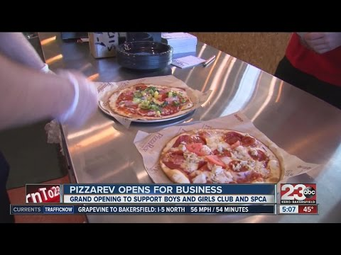 PizzaRev opens for business in Southwest Bakersfield