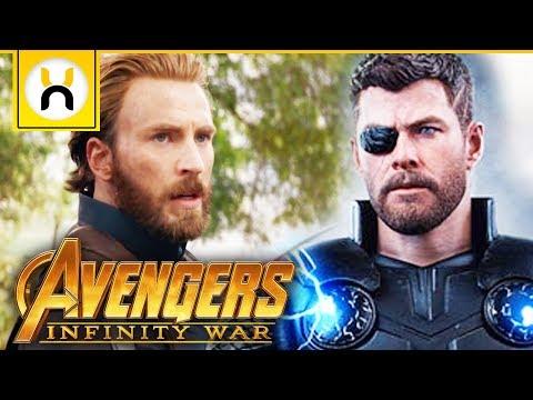 Captain America & Thor Reunion Scene Revealed | Avengers Infinity War