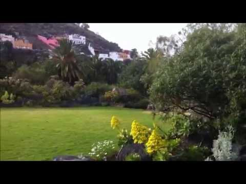 Viera y Clavijo botanical garden and sold home in Canary Island