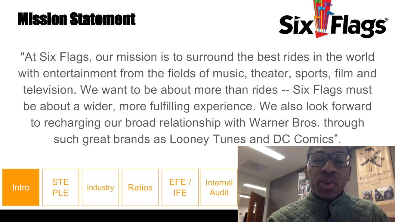 Six flags mission statement