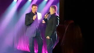 """Aled Jones and Russell Watson """"Volare"""" at the Arts Club October 15 2018"""