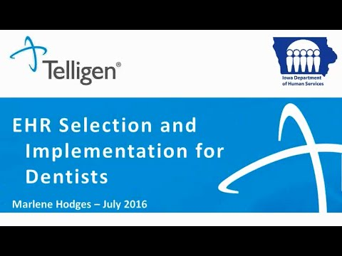 IME Dental Providers: EHR Selection and Implementation