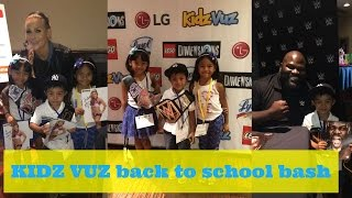 Day in the Life: KIDZ VUZ Back to School Bash & Haul | TeamYniguezVlogs #134c | MommyTipsByCole