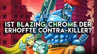 Ist Blazing Chrome ein Contra-Killer geworden? (Review/ Test)