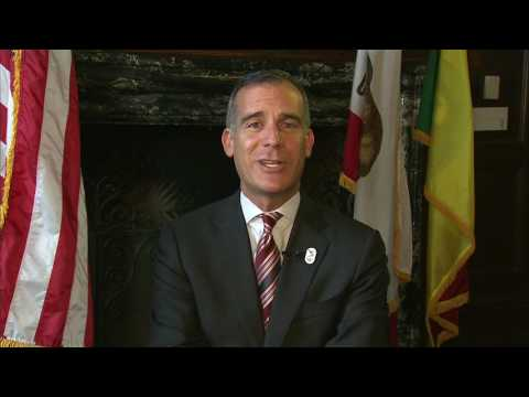 LA Mayor Eric Garcetti on if he'll run for president or governor