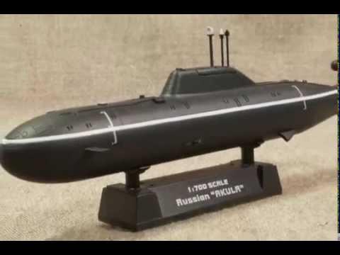 模型 ロシア攻撃型原子力潜水艦...