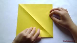 Оригами котенка| котёнок из бумаги