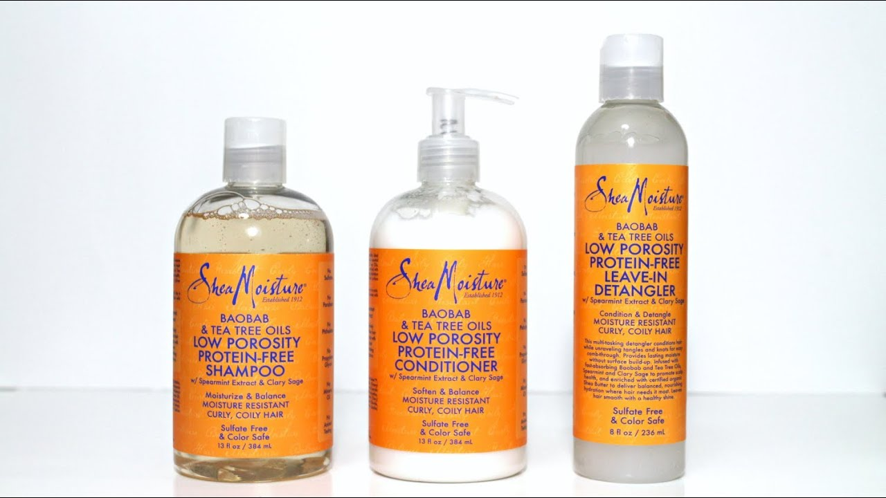 Review The New Shea Moisture Low Porosity Line Does It
