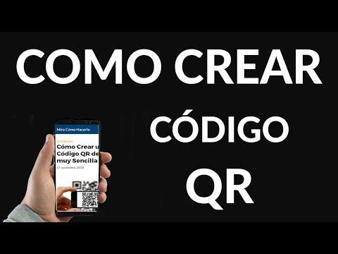 Cómo Crear un Código QR de Forma muy Sencilla