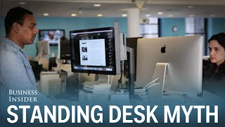 There's no clear-cut evidence that standing at your desk is better for your health than sitting