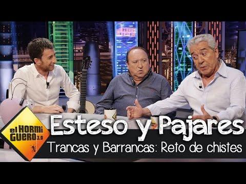 Fernando Esteso y Andrés Pajares cuentan chistes con Trancas y Barrancas  El Hormiguero 3.0