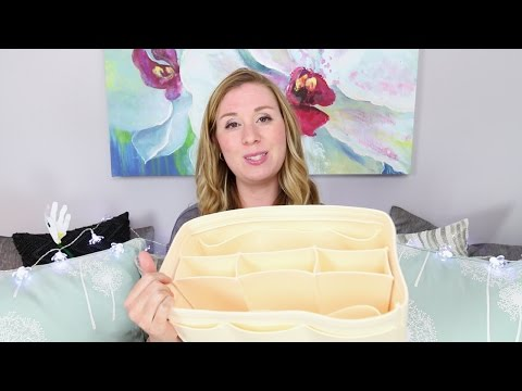 Me And My Samorga Bag Insert Review What's In  My Bag