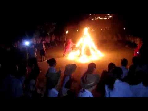 Video lửa trại Lộc Uyển 50 - Hòa Duân