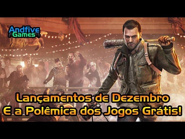 Lan�amentos de PS4 e Xbox One Dezembro de 2016 E a Pol�mica dos jogos Gr�tis Psn Plus e Live Gold