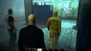 Hitman: Absolution, Death Factory, Decontamination, Purist, Suit Only, No KO, Shadow
