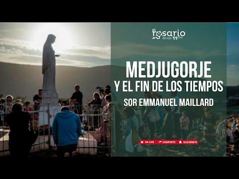 🔴MEDJUGORJE Y EL FIN DE LOS TIEMPOS. Sor Emmanuel Maillard