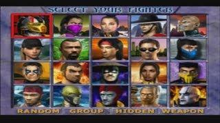 Mortal Kombat Gold - Playthrough (Sega Dreamcast)