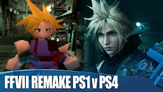 Final Fantasy VII Remake PS4 v PS1 - 7 Differences We Totally Love