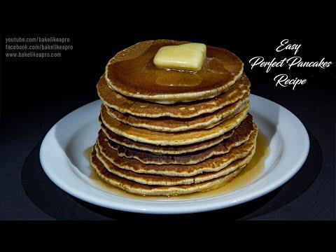 EASY Perfect Pancakes Recipe
