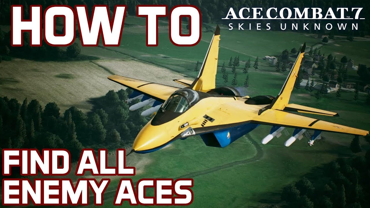 Ace Combat 7 Guide: All Enemy Aces, Skins And How To Find X