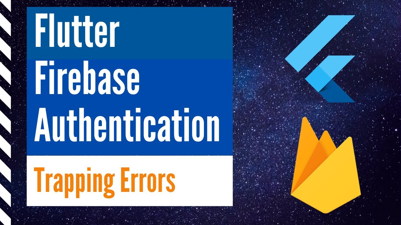 Flutter Firebase Authentication - Error Trapping